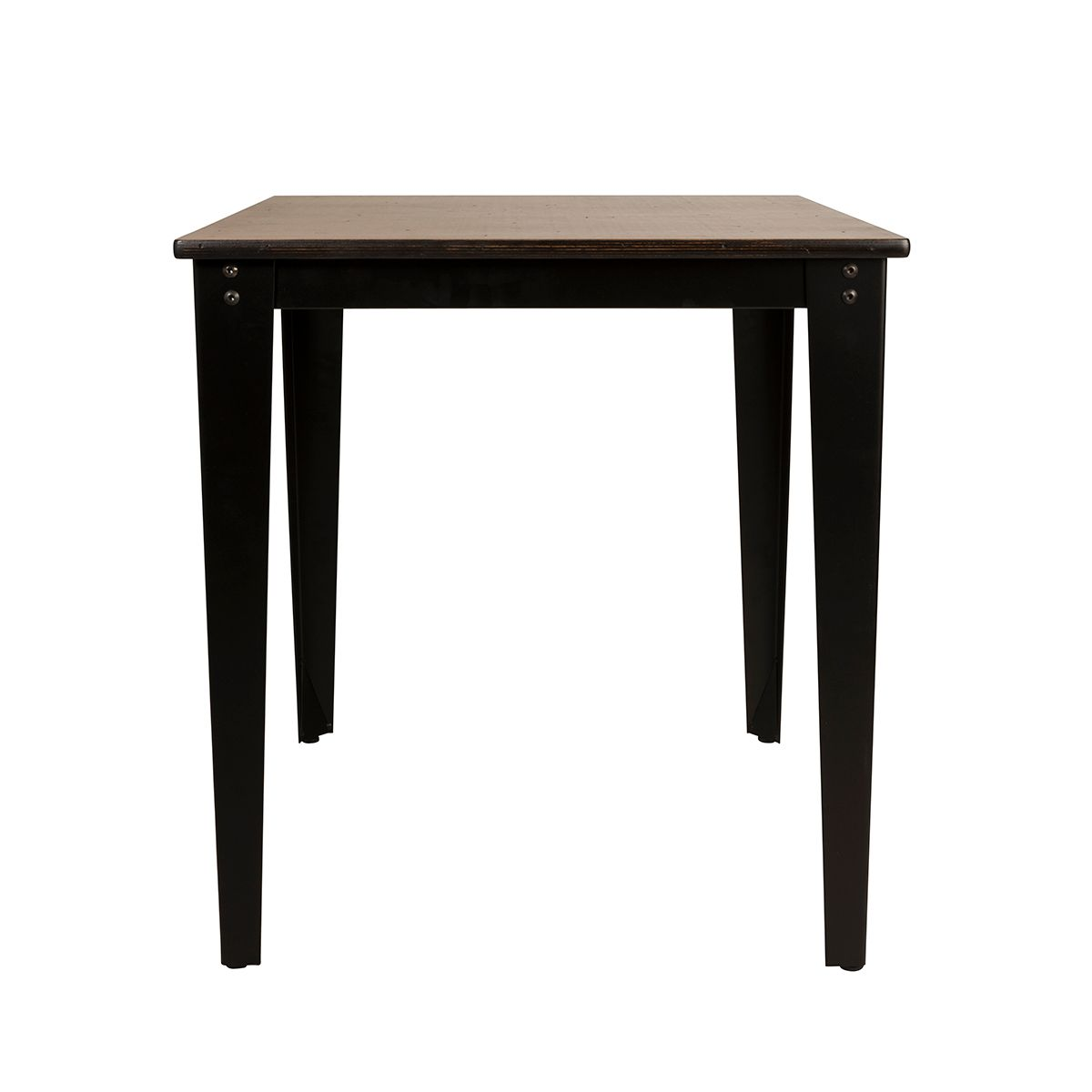 Table esprit factory en contreplaqué bouleau Scuola Dutchbone