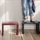 Tabouret enfant en frêne Little Architect Ferm Living