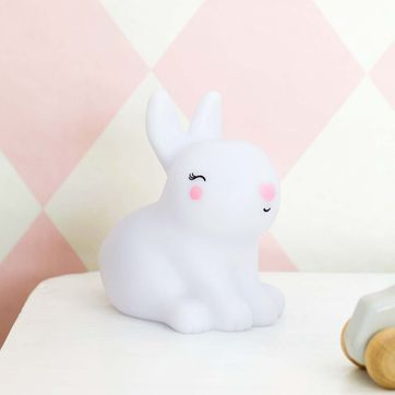 Veilleuse enfant Lapin blanc A Little Lovely Company