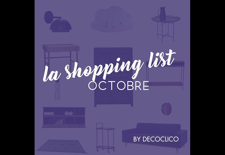 VIDEO shopping list : quoi de neuf au mois d´octobre ?