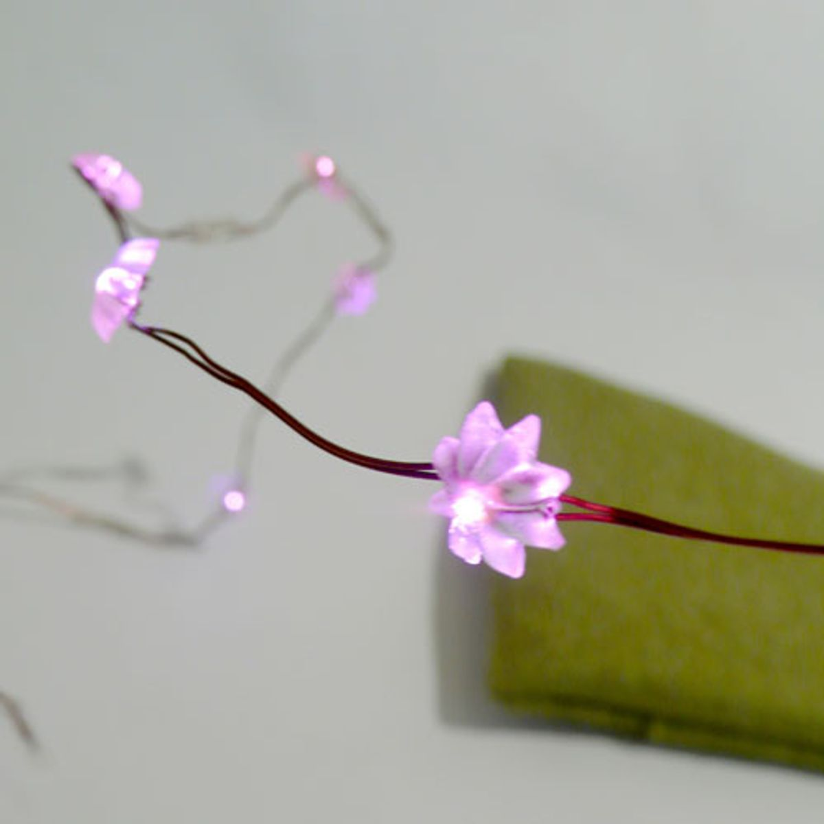 Guirlande de fleurs Minlight 20 leds centre de table PA Design