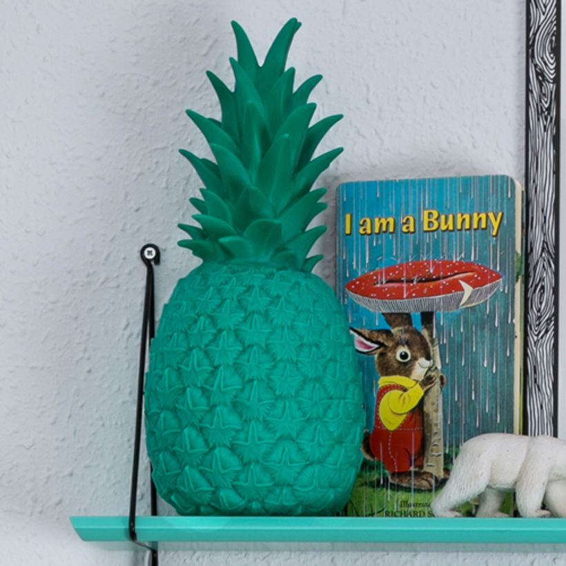 Lampe / veilleuse Ananas en vinyle Goodnight Light - Vert tropical