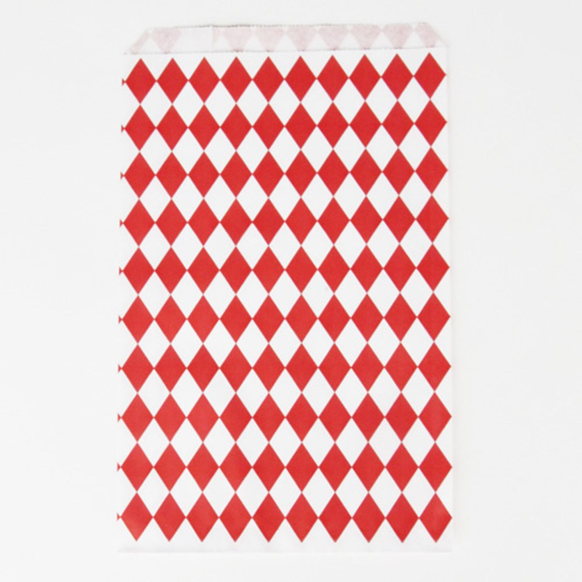Assiettes x8 à chevrons rouges Ruby Christmas My Little Day