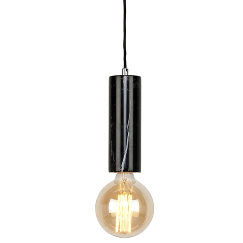 Suspension douille en marbre Athens It´s about Romi - noir
